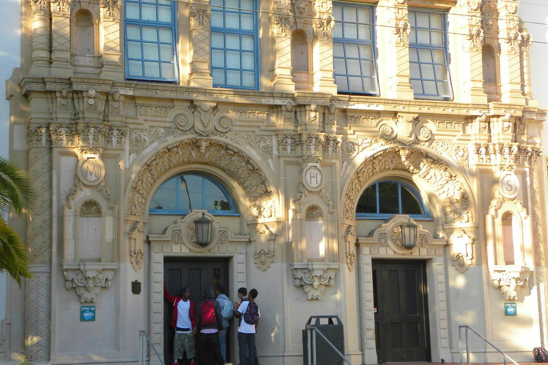 Mission High School Entrance