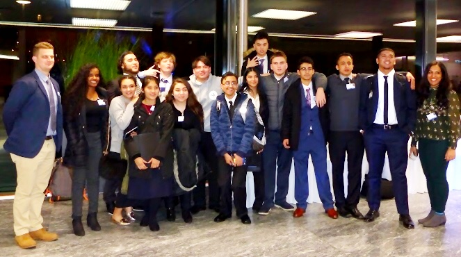 Mission Students Attend Model UN Conference