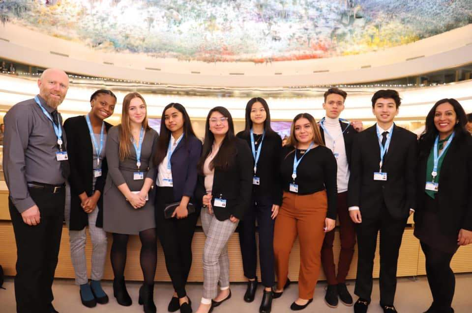 Mission Students Attend FERMUN 2020 Model UN